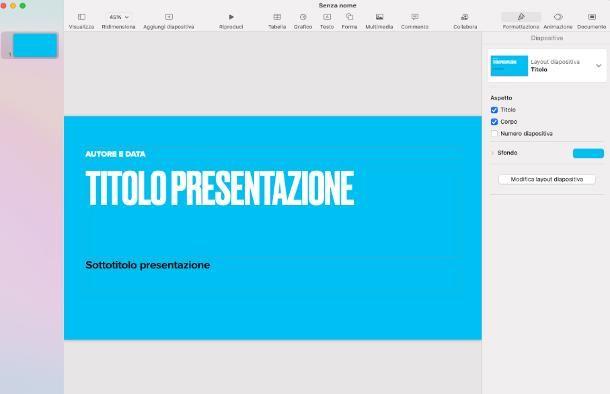 Programmi Office per Mac