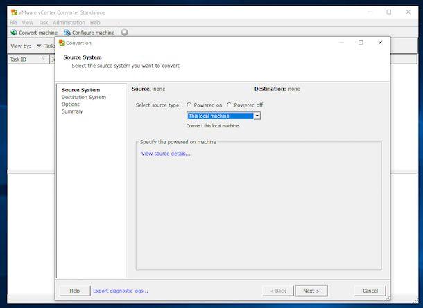 vCenter Converter Standalone VMware