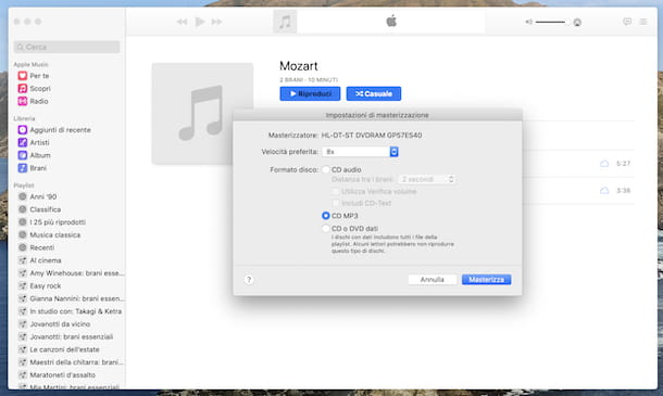 Musica macOS