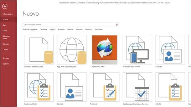 Programmi per database