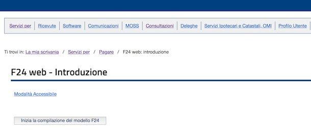 Pagare F24 Con F24 Web