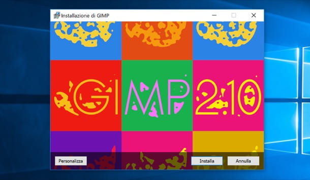 Download GIMP su Windows