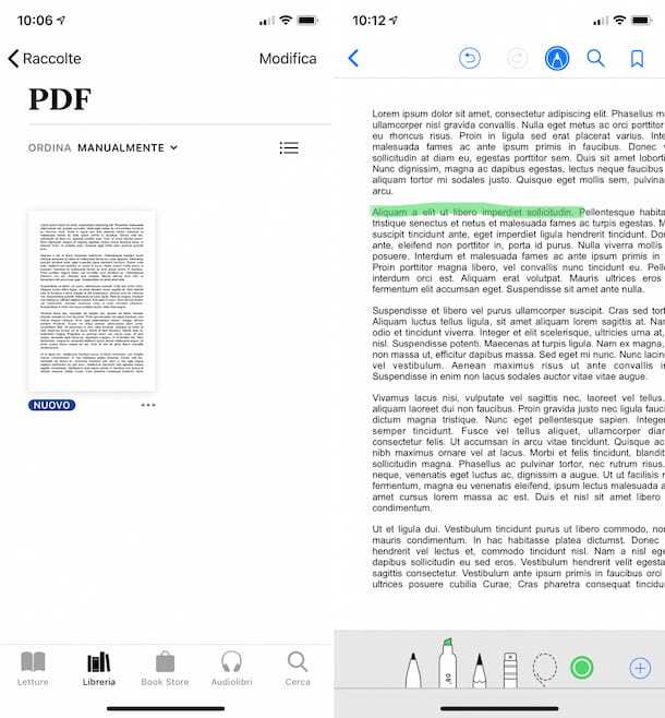 App Libri iPhone