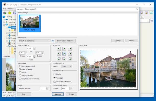 Programmi per stampare foto