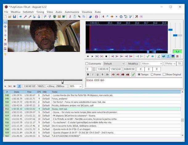 Programmi per sottotitoli