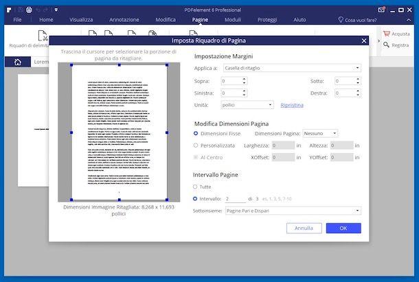 Come ridimensionare un file PDF