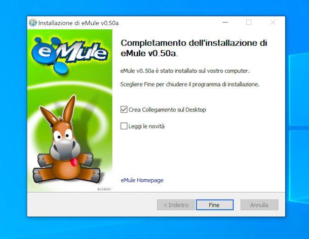 Installare eMule su Windows