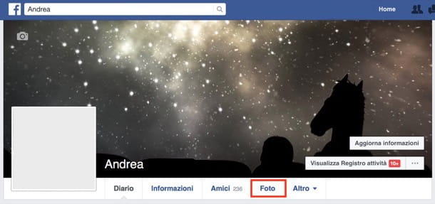 Come privatizzare le foto su Facebook