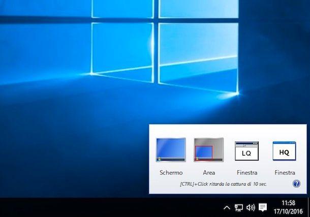 Programmi per catturare lo schermo
