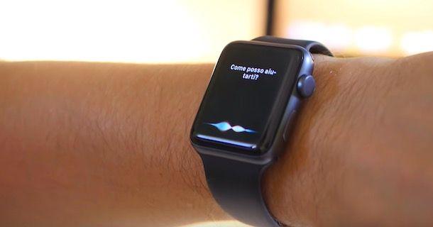 Come usare Siri su Apple Watch