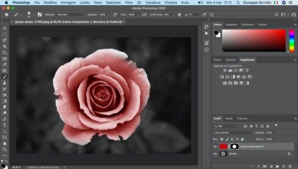 Colorare foto con Photoshop