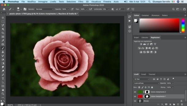 Colorare una foto con Photoshop