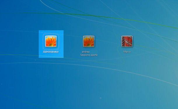 Windows 7 amministratore