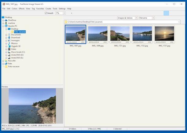 Programmi per organizzare foto