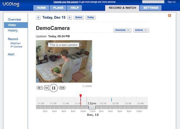 Programmi per videosorveglianza