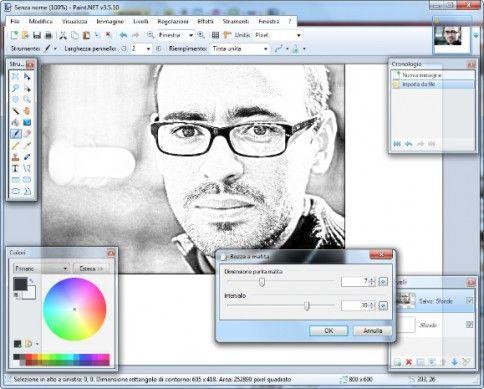 Programmi per trasformare foto in disegni salvatore for Programma per creare