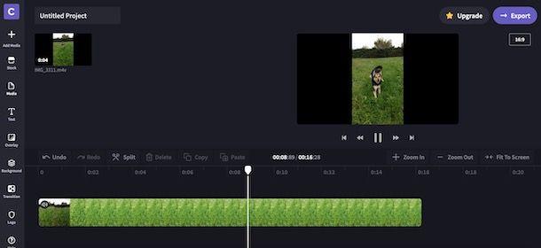 Rallentare un video con Clichamp