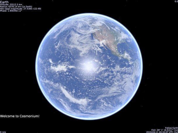 Software per astronomia per Mac