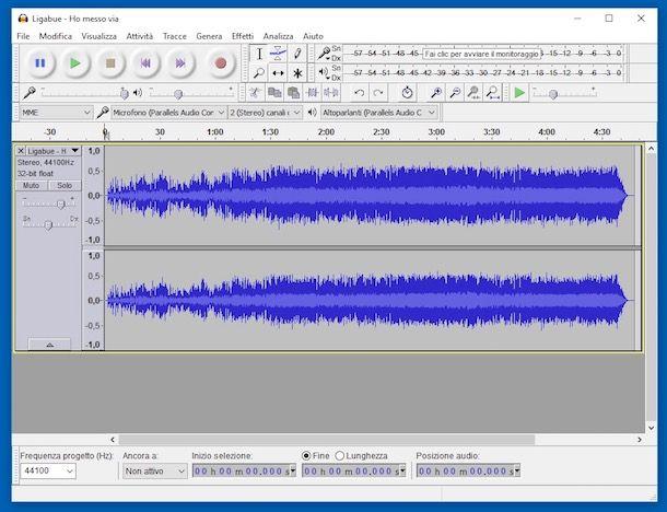 Come alzare il volume di una canzone