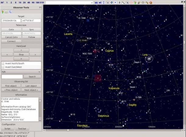 Altri software astronomia per Mac