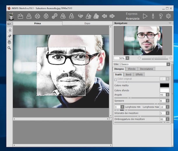 Programmi per trasformare foto in disegni
