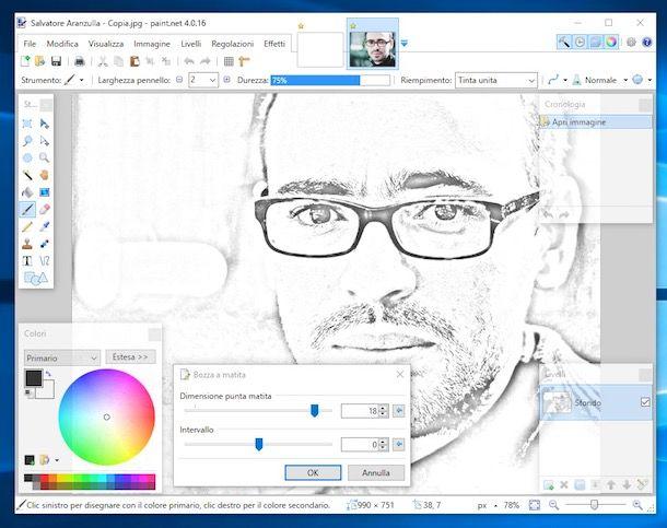 Programmi per trasformare foto in disegni salvatore for Come costruire un programma online casa gratuitamente