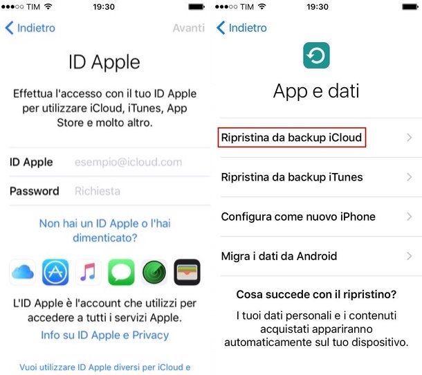 Come recuperare contatti iPhone
