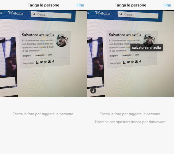 Come menzionare su Instagram