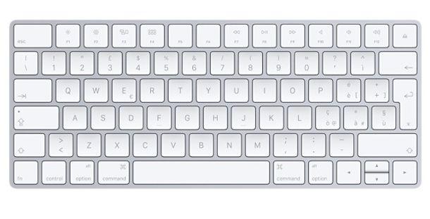 Come selezionare con la tastiera
