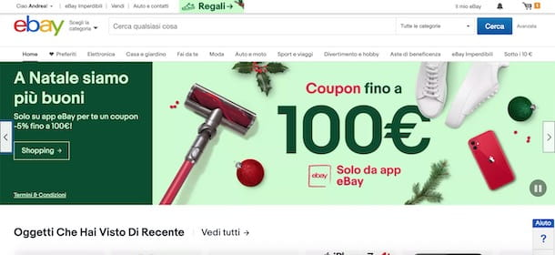 Come ricevere coupon eBay