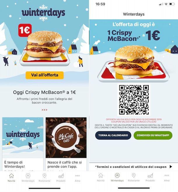 Come ricevere coupon McDonalds