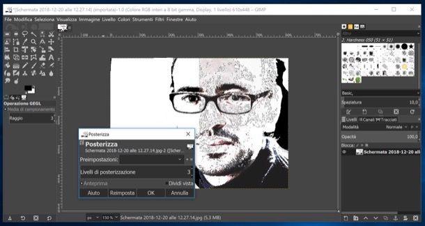 Vettorializzare con GIMP