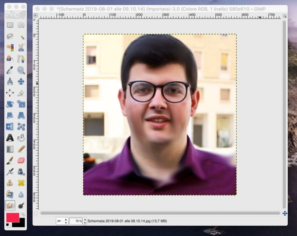 Sfumare colori con GIMP