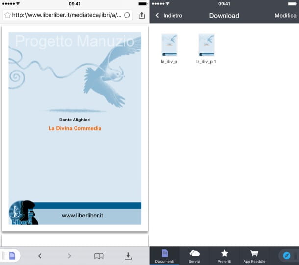 Come salvare PDF su iPhone