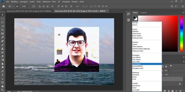 Fondere due immagini con Photoshop