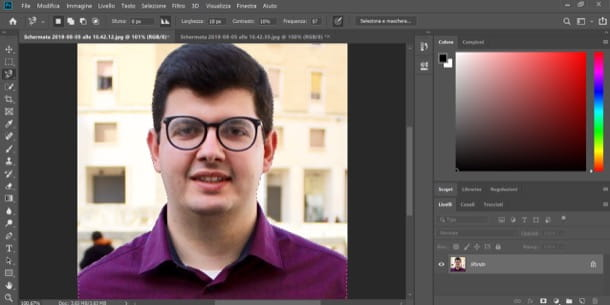 Scontornare con Photoshop