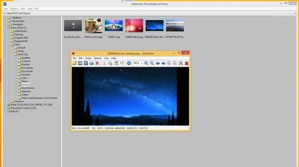 Programmi per scorrere foto su Windows 8
