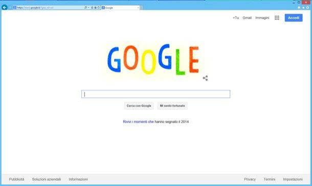 Come impostare Google come pagina iniziale di Internet Explorer