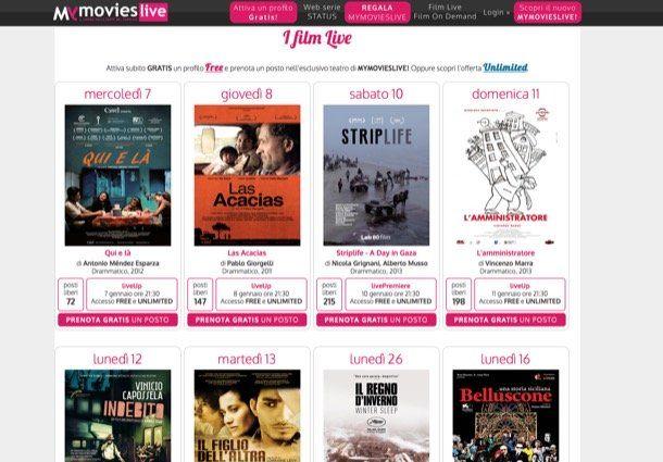 My Movies Live