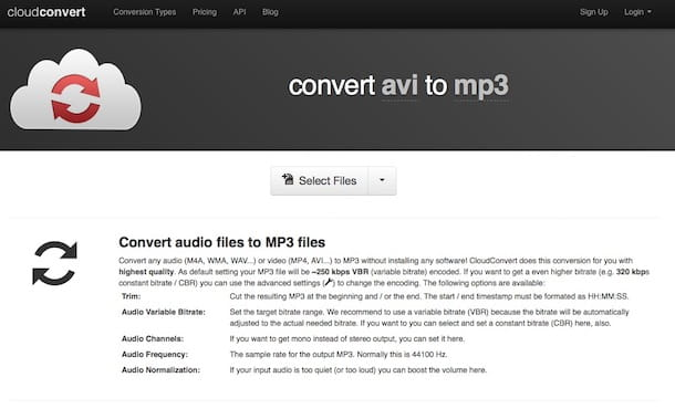 Come convertire un video in MP3
