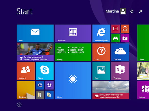 Come passare da Windows 8 a Windows 7