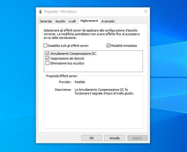Come amplificare un microfono: Windows 10