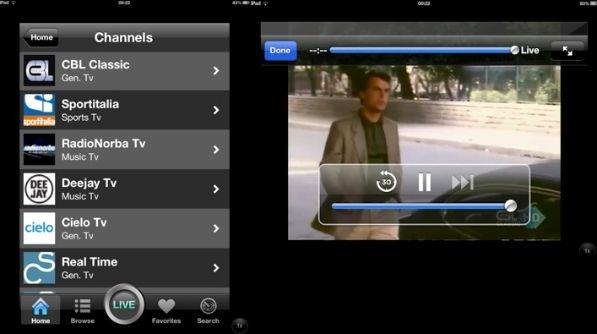 Programmi per guardare la tv su ipad salvatore aranzulla for Guardare la tv
