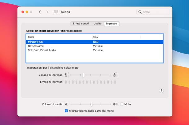 Come amplificare un microfono: Mac