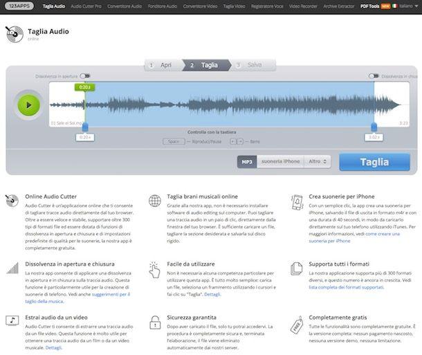 Come dividere un file MP3