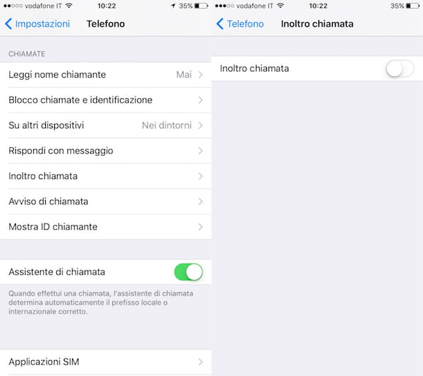 Come deviare le chiamate su iPhone