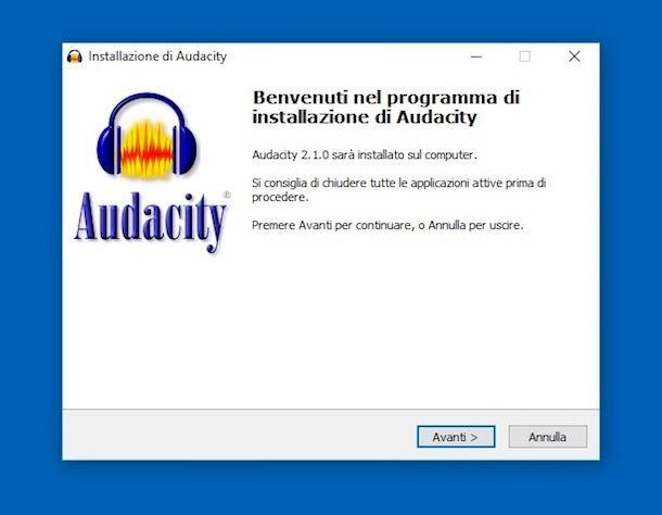 Come spezzare un file audio