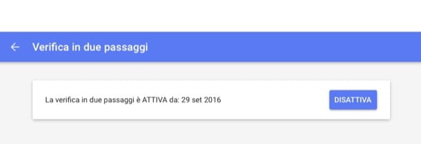 Come autenticare account Google