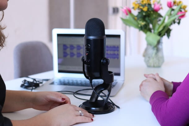 Come sentire la propria voce