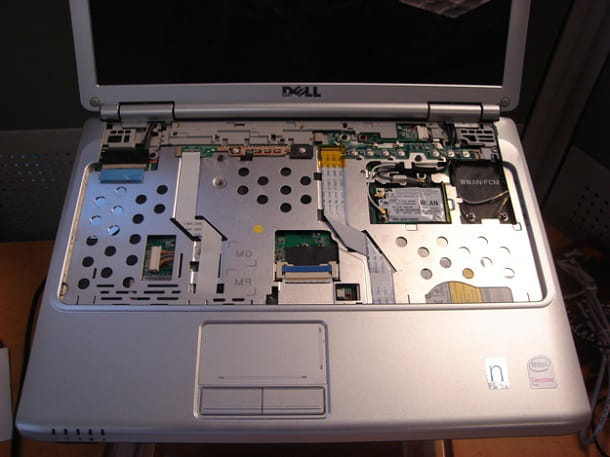 Come smontare un portatile